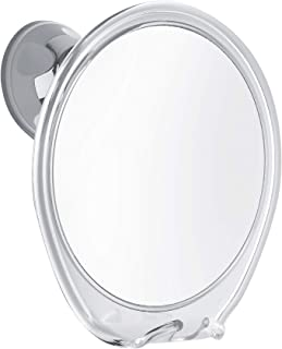 PROBEAUTIFY Fogless Shower Mirror for Shaving | Razor Hook Holder, 360 Degree Rotation,..