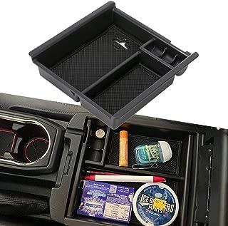 EDBETOS Tacoma Car Center Console Armrest Box Glove Box Secondary Storage Console Organizer Insert Tray for Toyota Tocoma 2016 2017 2018 2019
