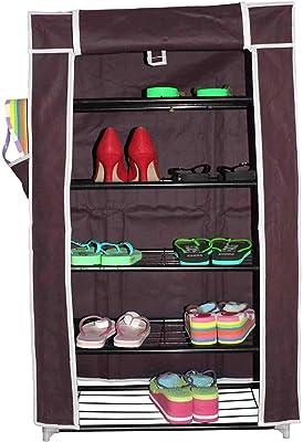 ANVA 5-Layers Multi-Purpose Shoe Rack (Multi Color)