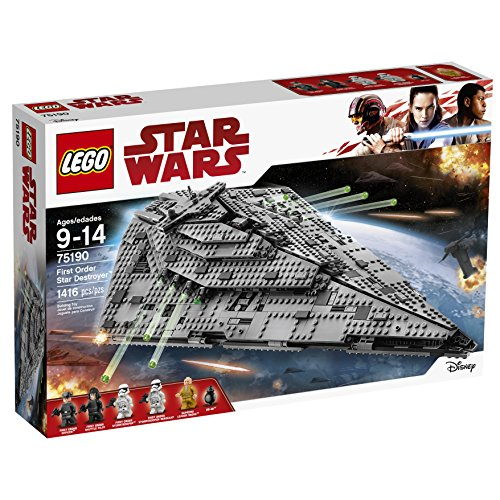 LEGO Star Wars Croiseur Premier Ordre Star Destroyer First Order 75190 - 1416 Pièces - 9