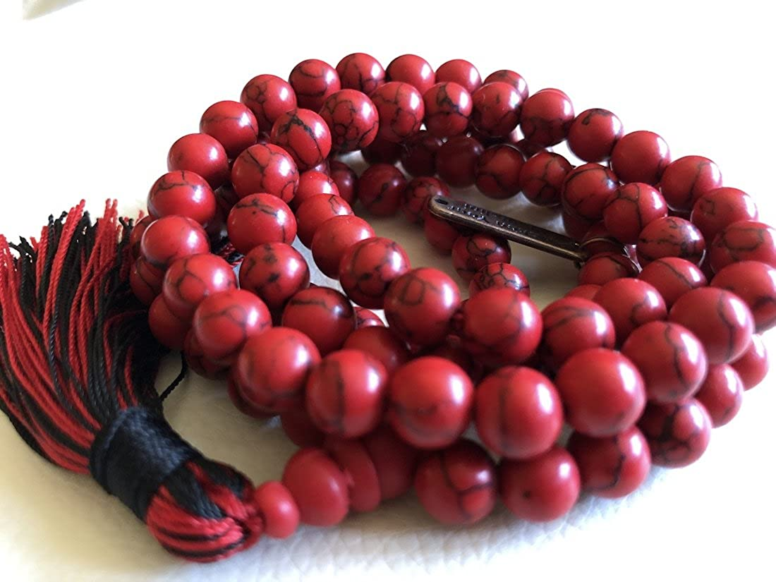 Crystal Mala Beads Necklace Reiki Gem Healing E Albuquerque Mall Stones Blessed 40% OFF Cheap Sale