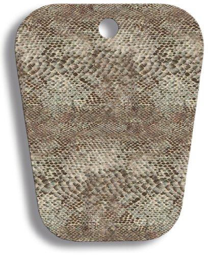 Hormas para botas, juego de 2 pares hojas de plástica 34 cm larga, patrón de la serpiente para enrollar