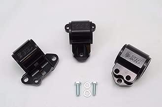 1320 Performance B & D series motor mount 3 bolt driver side black billet EG DC2 75A Stiffness