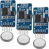 AZDelivery 3 x Reloj en tiempo real RTC DS3231 y bateria incluida gratis I2C para Arduino,...