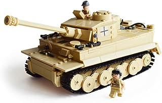 BestMind タイガー戦車 第二次世界大戦 ドイツ軍 Tiger ティーガー 995ブロック プラモデル ミリタリー おもちゃ 箱付き 保証書付き
