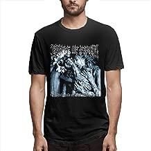 LIUNEWLJX Cradle of Filth Fashion Design T-Shirt for Man Black
