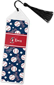 Baseball Book Mark w/Tassel (Personalized)