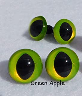 70pcs//35pairs yueton 70 Pcs 12mm Mix Color Plastic Safety Eyes with Washers Eyes For Teddy Bear Doll Animal Crafts DIY