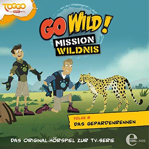 Das Gepardenrennen (Go Wild - Mission Wildnis 8) Titelbild