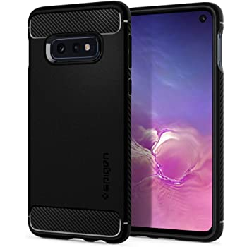 Spigen Rugged Armor Designed for Samsung Galaxy S10e Case (2019) - Matte Black