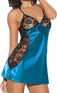 SomeTeam Negligee Damen Nachtwäsche Große Größen Babydoll Spitze Erotische Unterwäsche Sexy Dessous Nachthemd Dessous Party