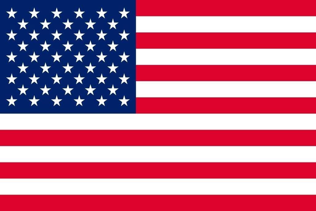 Amazon.com: United States of America USA American Flag Cool Wall Decor Art  Print Poster 36x24: Posters & Prints