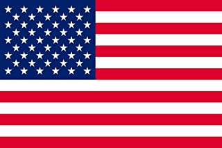 United States of America USA American Flag Laminated Dry Erase Sign Poster 18x12