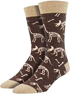 Socksmith Mens Novelty Crew Socks Can You Dig It - One Size