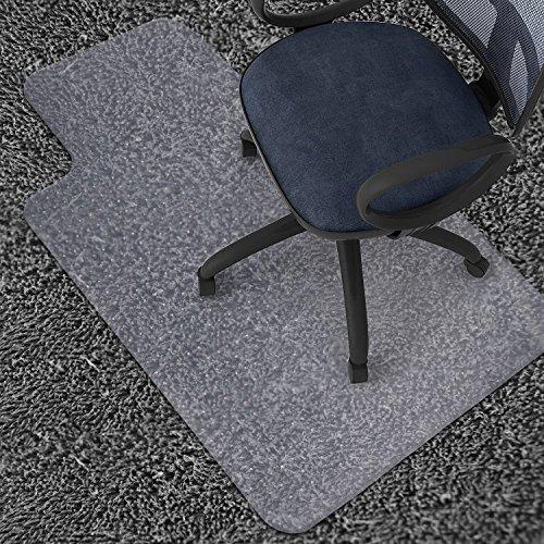 "Azadx 36"" X 48"" Clear PVC Carpet Chair Mat, Multitask Home/Office/Computer Chair Mats, Rug Protector Chair Mat"