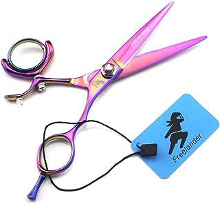 Professionele Plaatscharen Hair Snijden Schaar 6,0 Inch Japan 9CR RVS Set, High Quality Finger Rest Multicolor Kapper Scha...