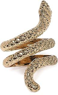 ZAVERI PEARLS Ring for Women (Golden) (ZPFK9892)