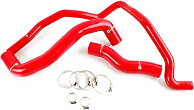 Silicone Radiator Coolant Hose Piping Kit Clamps For NISSAN 350Z Fairlady Z33 VQ35DE VQ35HR 2003 2004 2005 2006 2007 Red