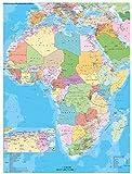 Afrika politisch mit Postleitbereichen - Heinrich Stiefel