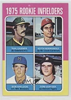 Phil Garner; Keith Hernandez; Bob Sheldon; Tom Veryzer (Baseball Card) 1975 Topps - [Base] #623