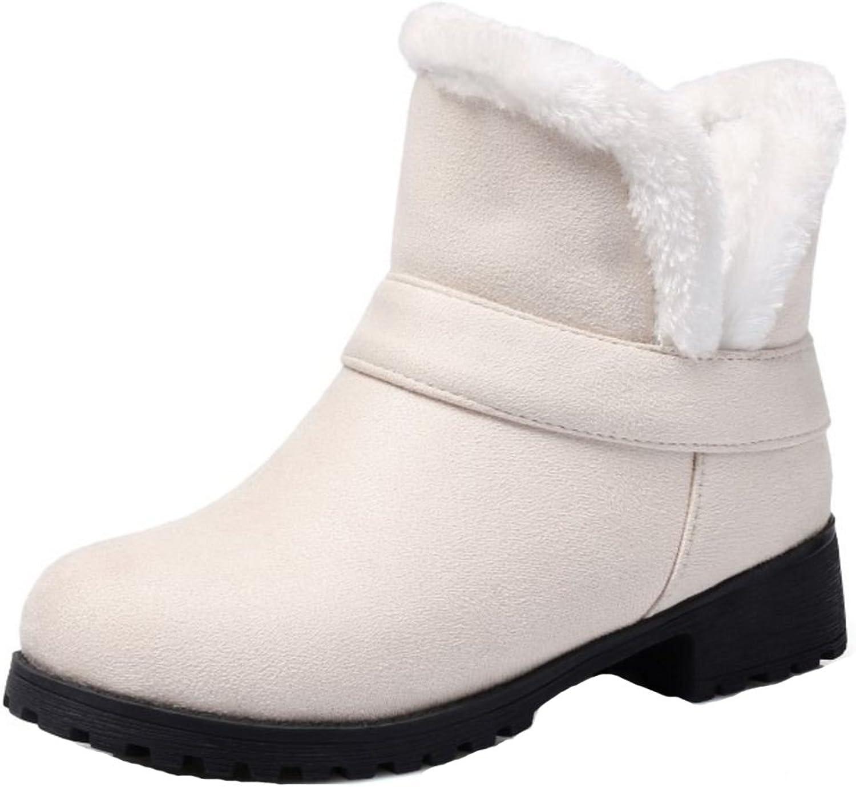 AicciAizzi Women Boots Slip On Warm Lined
