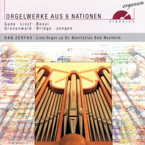 Orgelwerke aus sechs Nationen (Link-Orgel der Pfarrkirche St. Bonifatius Bad Nauheim)