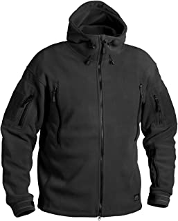 HELIKON-TEX Patriot Heavy Fleece Jacket - Black
