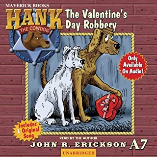 The Valentine's Day Robbery audiobook cover art