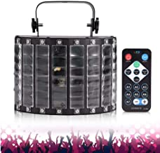 JCCOZ-URG DJ Disco Lights, LED Party Lights DMX512 Sound Activated Strobe Light Stage Lights with Remote Control for Dance...