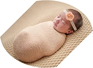 Coberllus Newborn Baby Photo Props Wrap Cloth Blanket for Boys Girls Photography Shoot