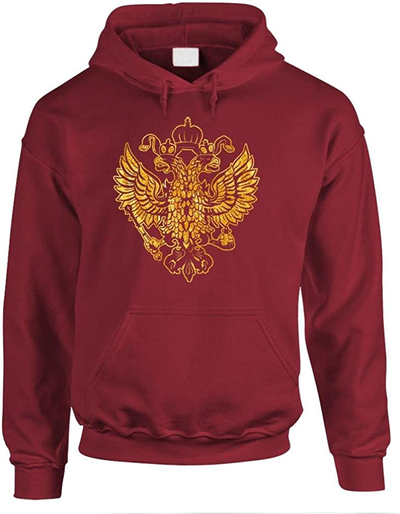 The Goozler - Max 75% OFF Imperial Russian Pullover Eagle Hoodie Limited Special Price Mens