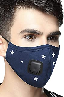 N99 Dust Mask Anti Pollution Military Grade Washable Cotton N95 Masks with Adjustable Straps