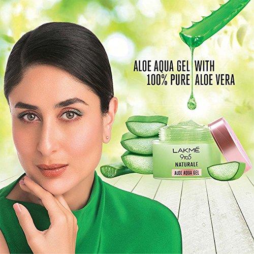 Lakmé 9 to 5 Naturale Aloe Aquagel, 50g And Lakmé Complexion Care Face Cream, Bronze, 9g