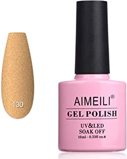 AIMEILI Soak Off UV LED Matte Gel Nail Polish - Belamcanda Chinensis (130) 10ml