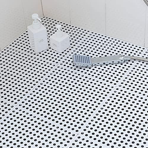 Alfombrilla de baño antideslizante,alfombrilla de costura,almohadilla de plástico impermeable para los pies,Alfombrilla de ducha antideslizante con orificios de drenaje,impermeable y antiincrustante