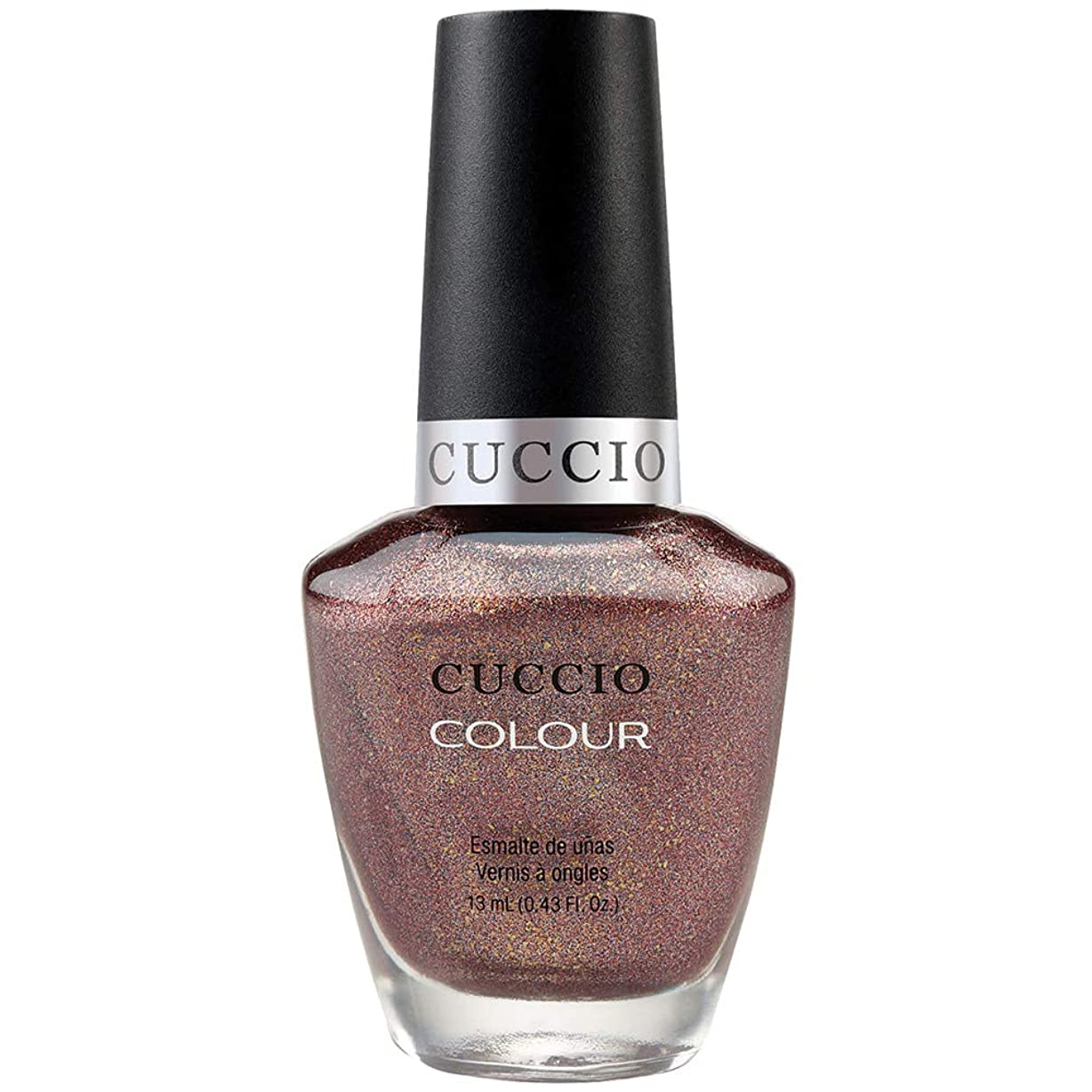 しなやかなベースジョージバーナードCuccio Colour Gloss Lacquer - Coffee, Tea or Me - 0.43oz / 13ml