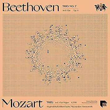 Mozart: Trio in E-Flat Major, K.498 - Beethoven: Trio No. 7 in B-Flat Major, Op. 11