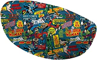 Caixa p oculos pu dco super heroes azul 16,5 x 6,9 x 8 cm