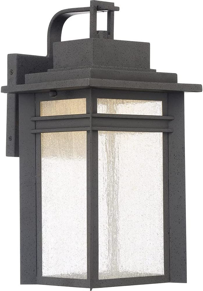 Quoizel BEC8409SBK Beacon At the price Outdoor Wall LED Sconce 1-Light 2021 new W 22