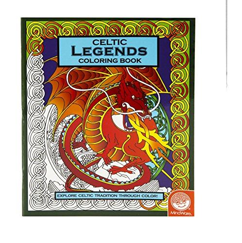 MindWare Celtic Coloring Book: Legends