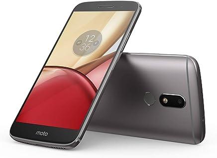 Motorola Moto M Dual Sim - 32GB, 3GB RAM, 4G LTE, Gray