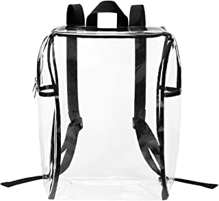 Lewis N. Clark Heavy Duty PVC Clear Backpack