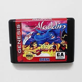 Value★Smart★Toys - Aladdin 16 bit MD Game Card for Sega Mega Drive for Genesis