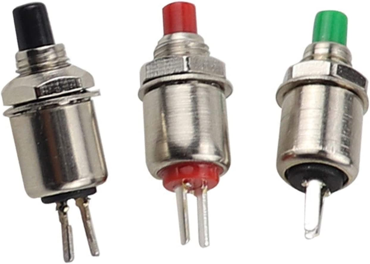 XIALITR Fort Worth Mall Micro Switch 10PCS 5mm Return Super sale period limited momentary Spring Pus