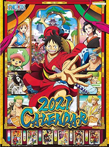 One Piece 2021 Official Wall Calendar Anime Ensky Japan