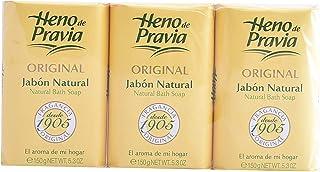 Hay de Previa Original Natural Soap 3 x 150 g - 450 ml