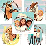 SmileMakers Spirit Riding Free Stickers - Prizes 100 per Pack