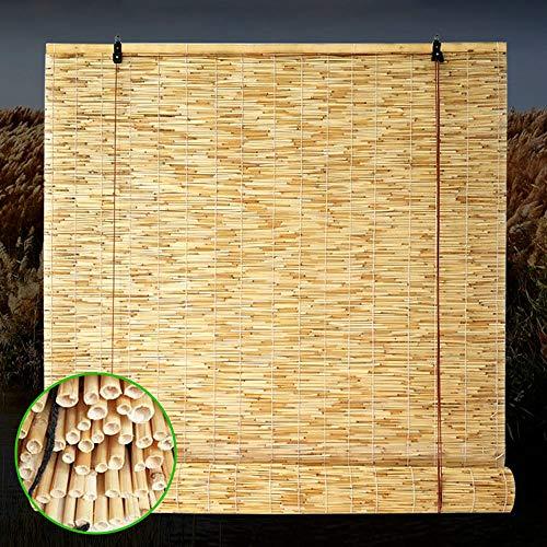 F-XW Bambusvorhänge Fenster Sichtschutz Rollos für Garten/Veranda/Pool, Größe Kann Angepasst Werden