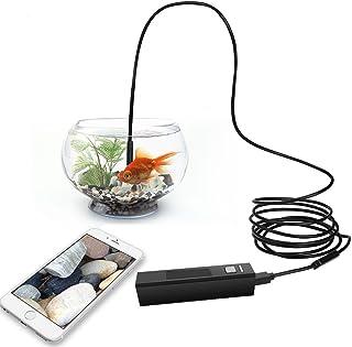 UxradG Endoscopio inalámbrico Depstech Hook Magnet - Juego de espejo retrovisor para cámara endoscópica inalámbrica Depstech de 8 mm color negro