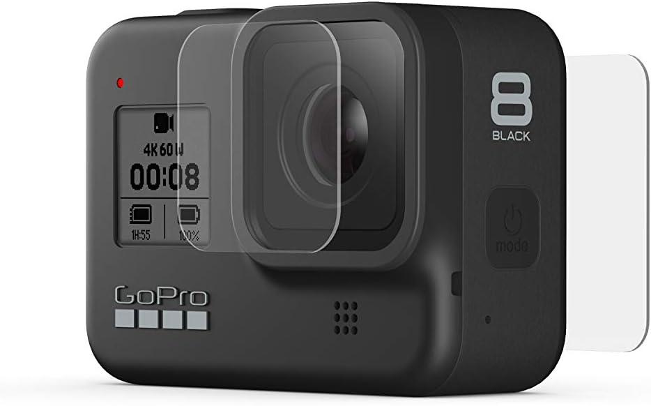 Gopro Objektiv Und Displayschutz Aus Gehärtetem Glas Kamera